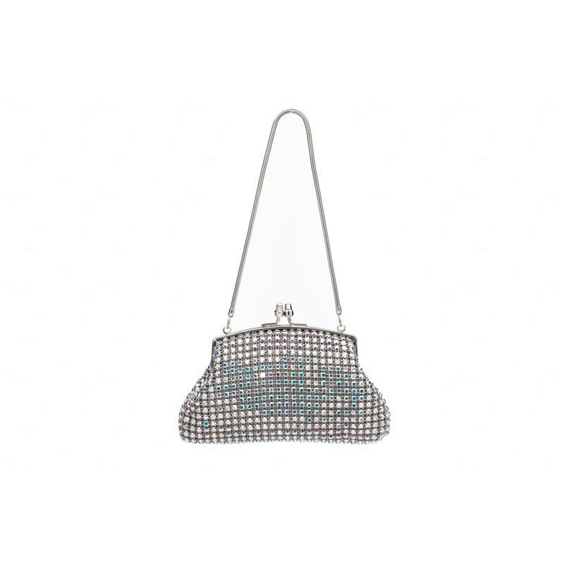 Mini crystal evening bag